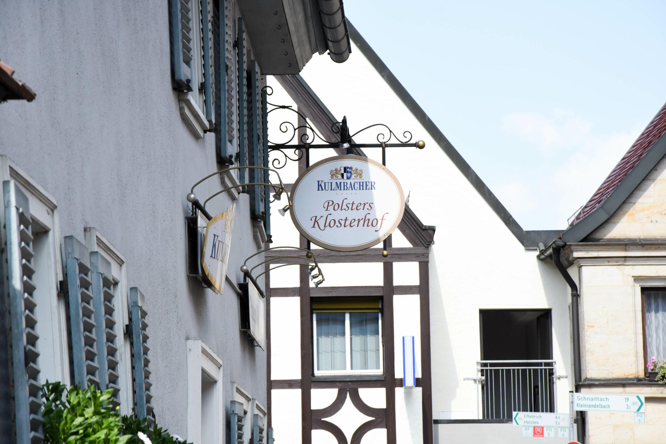10.7 und 11.7 ist der Klosterhof geschlossen!